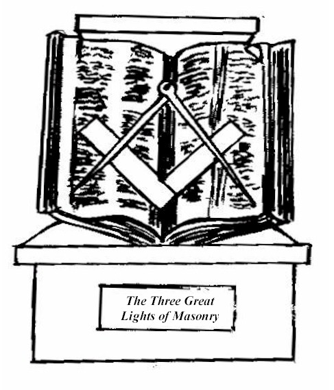 A Book A Square And A Compass The Masons