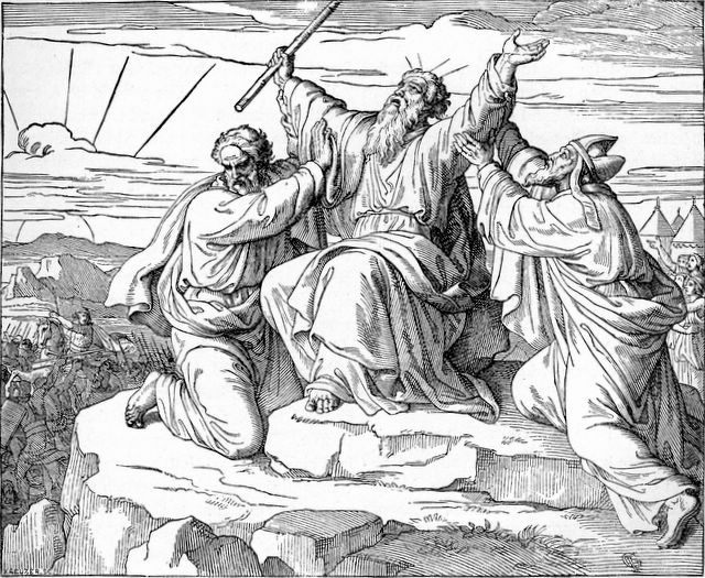 """a description of life in the wilderness for the people of israel who cursed moses and aaron Israel's unfaithful response to god in the wilderness the second, much darker theme that runs through the wilderness stories is that of israel's repeated rejection of god and his goodness, expressed over and over again as israel's """"murmuring"""" against god."""
